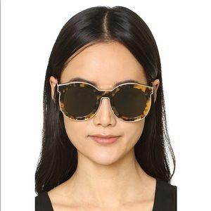 Karen Walker Super Spaceship tortoise sunglasses